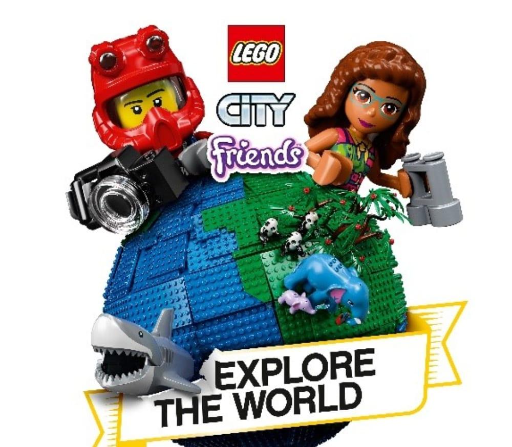 National Geographic, annunciata la partnership con LEGO