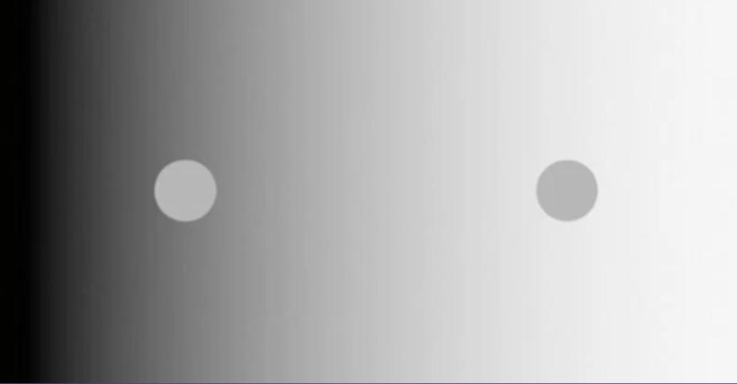 Illusioni ottiche: diresti mai che questi pallini sono dello stesso colore?