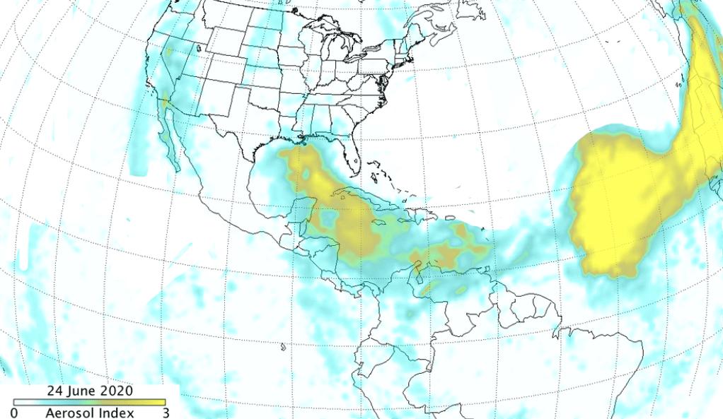 Tempesta di sabbia del Sahara analizzata dal satellite Suomi NPP della NASA-NOAA