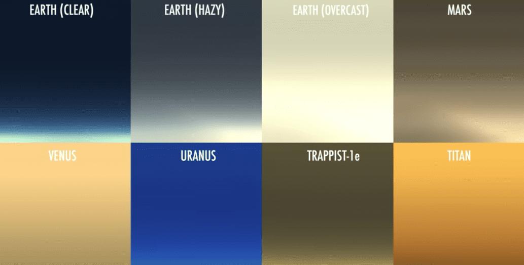 Tramonti su altri pianeti e corpi celesti: il video della NASA