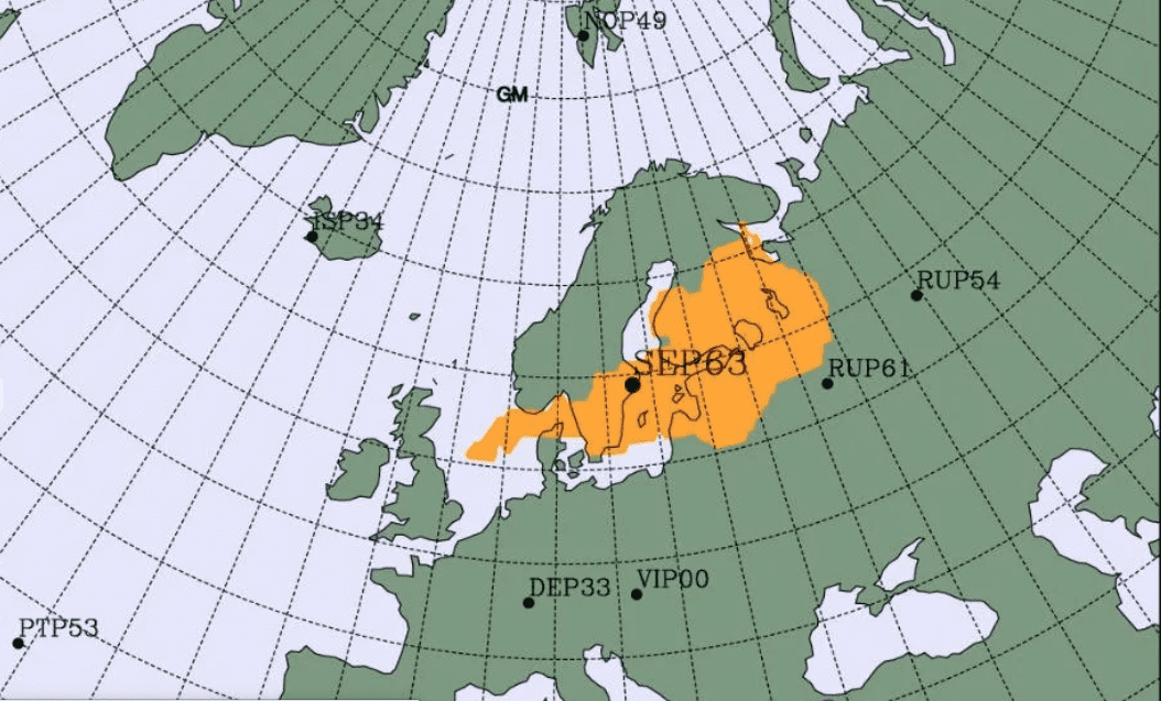 Radioattività: qual è l'origine del picco rilevato nel nord Europa?