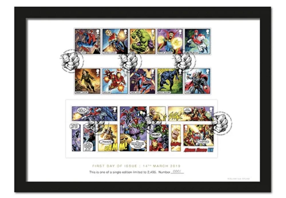 ROYAL MAIL'S OFFICIAL MARVEL COMICS STAMPS