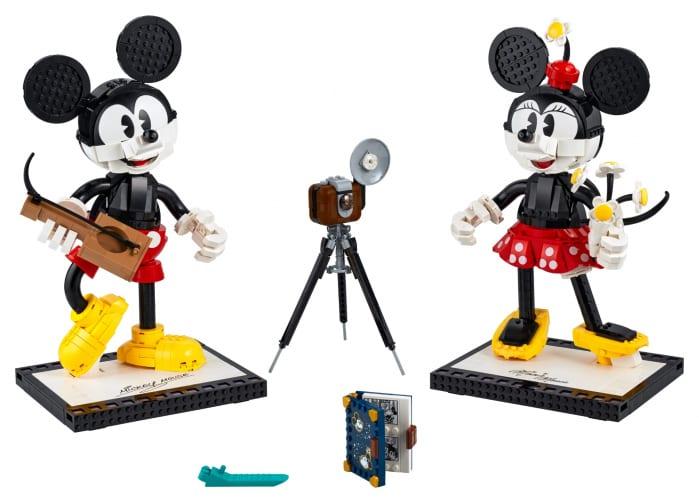 Mickey Mouse e Minnie Mouse