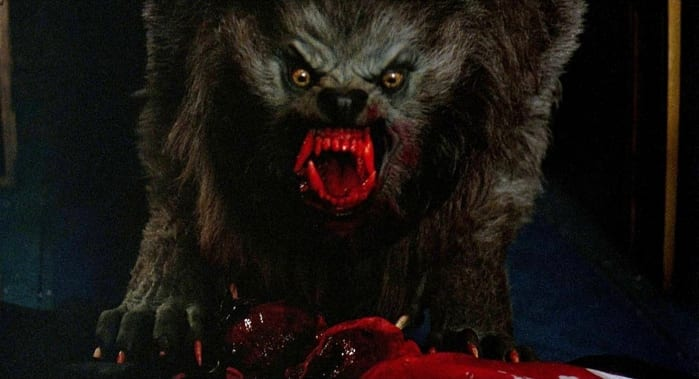 """Una scena tratta da """"Un lupo mannaro americano a Londra"""" (1981)"""