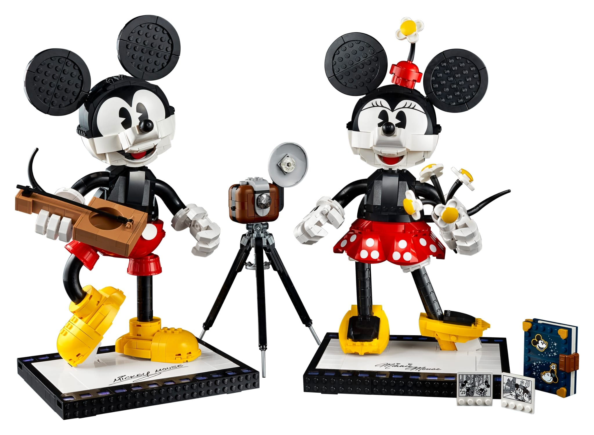 Mickey Mouse e Minnie Mouse