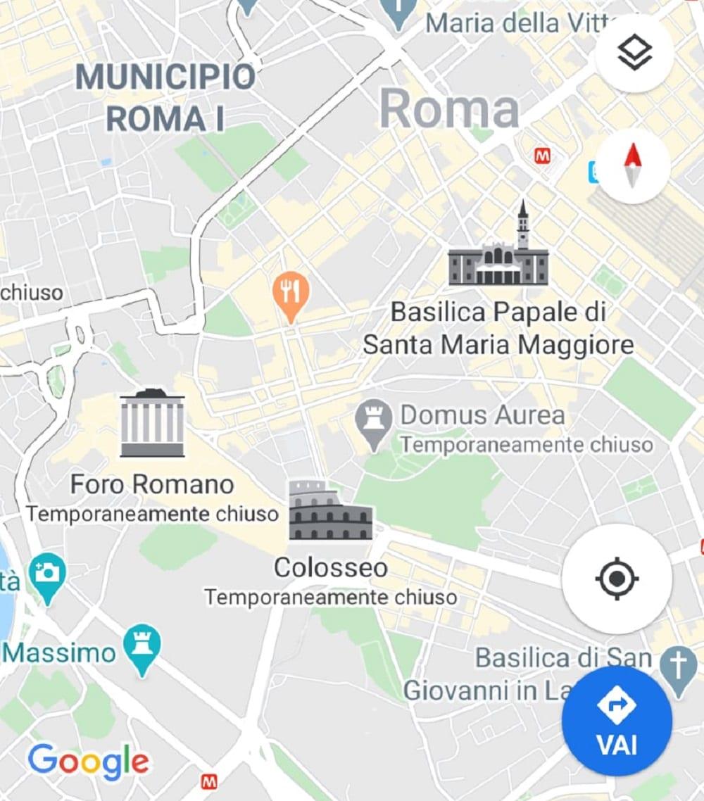 Google Maps si aggiorna: ora i monumenti hanno una loro miniatura (ma non tutti)