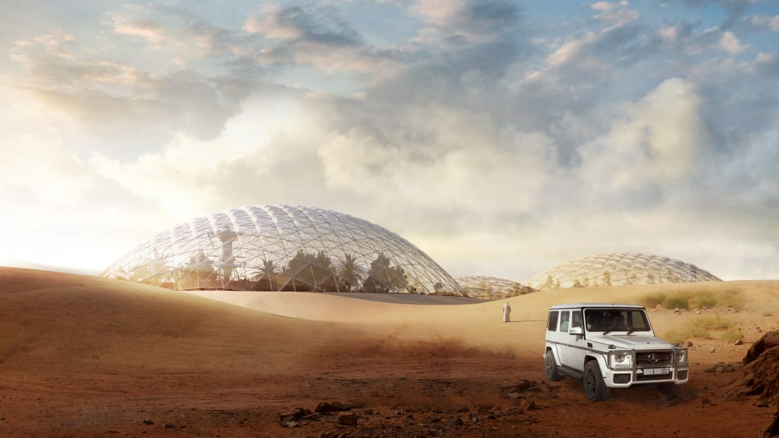 Mars Science City: la città marziana fuori Dubai