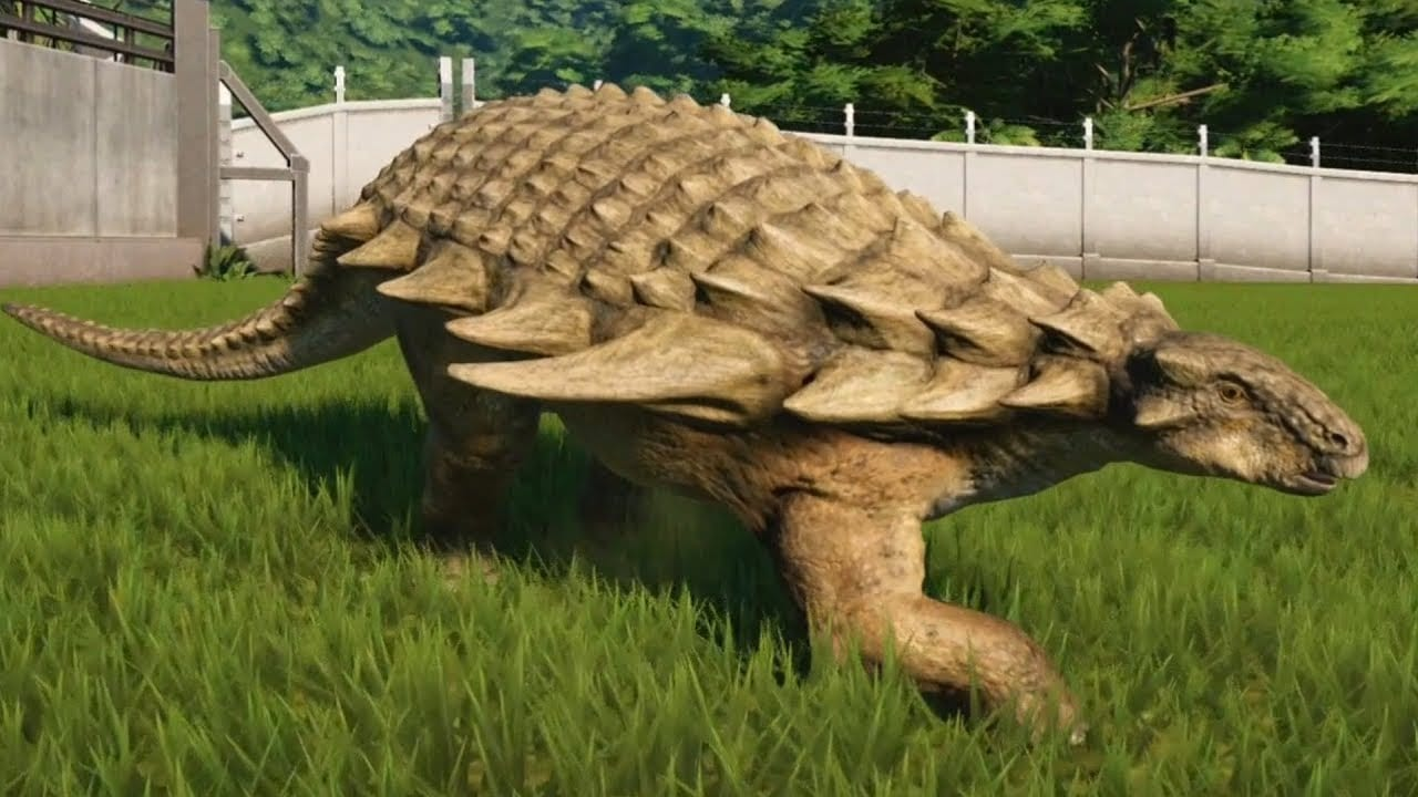 Dinosauri: scoperto un pasto di 110 milioni di anni fa, trovato nello stomaco di un nodosauro