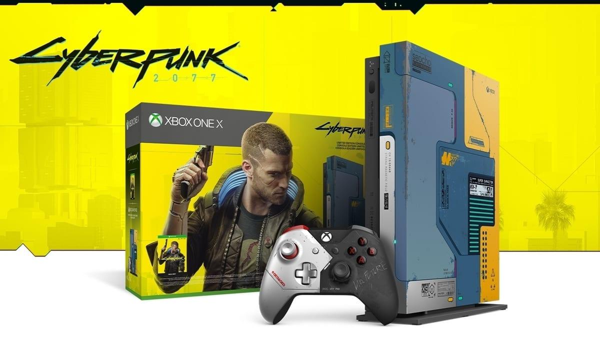 Xbox One X Limited Edition di Cyberpunk 2077 a 299,99 euro su Amazon