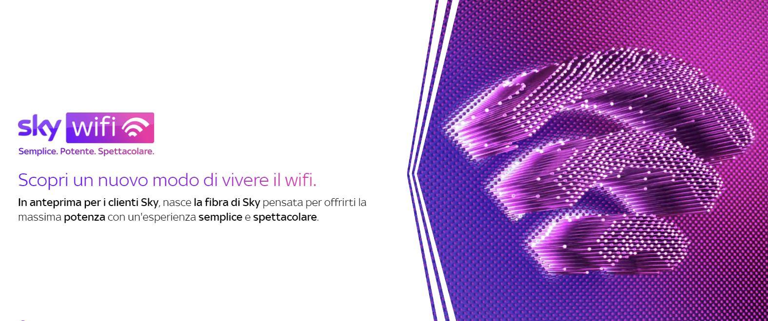 Sky WiFi, il colosso debutta nel settore della rete fissa: offerte e costi