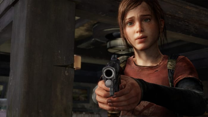 Ellie pistola storia the last of us