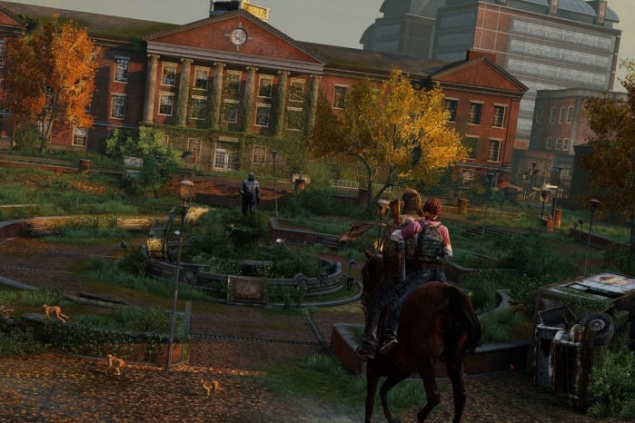 Storia di The Last of Us università