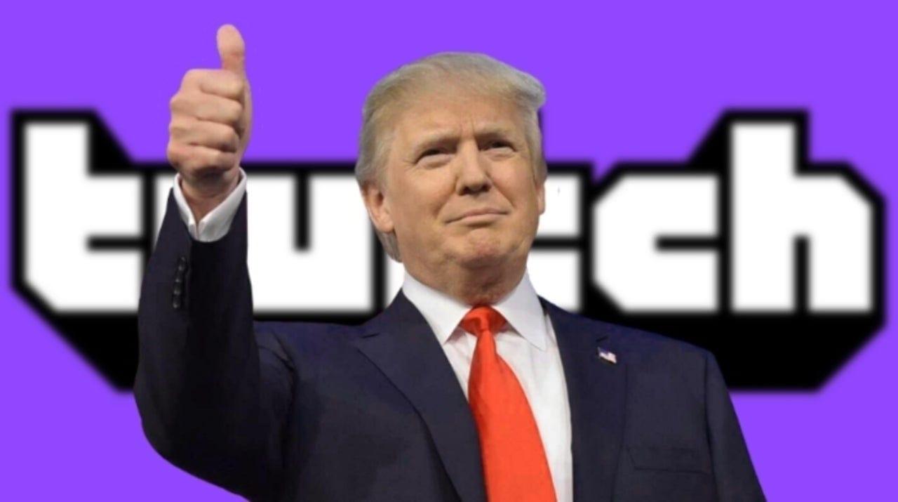 Donald Trump viene eradicato definitivamente da Twitch