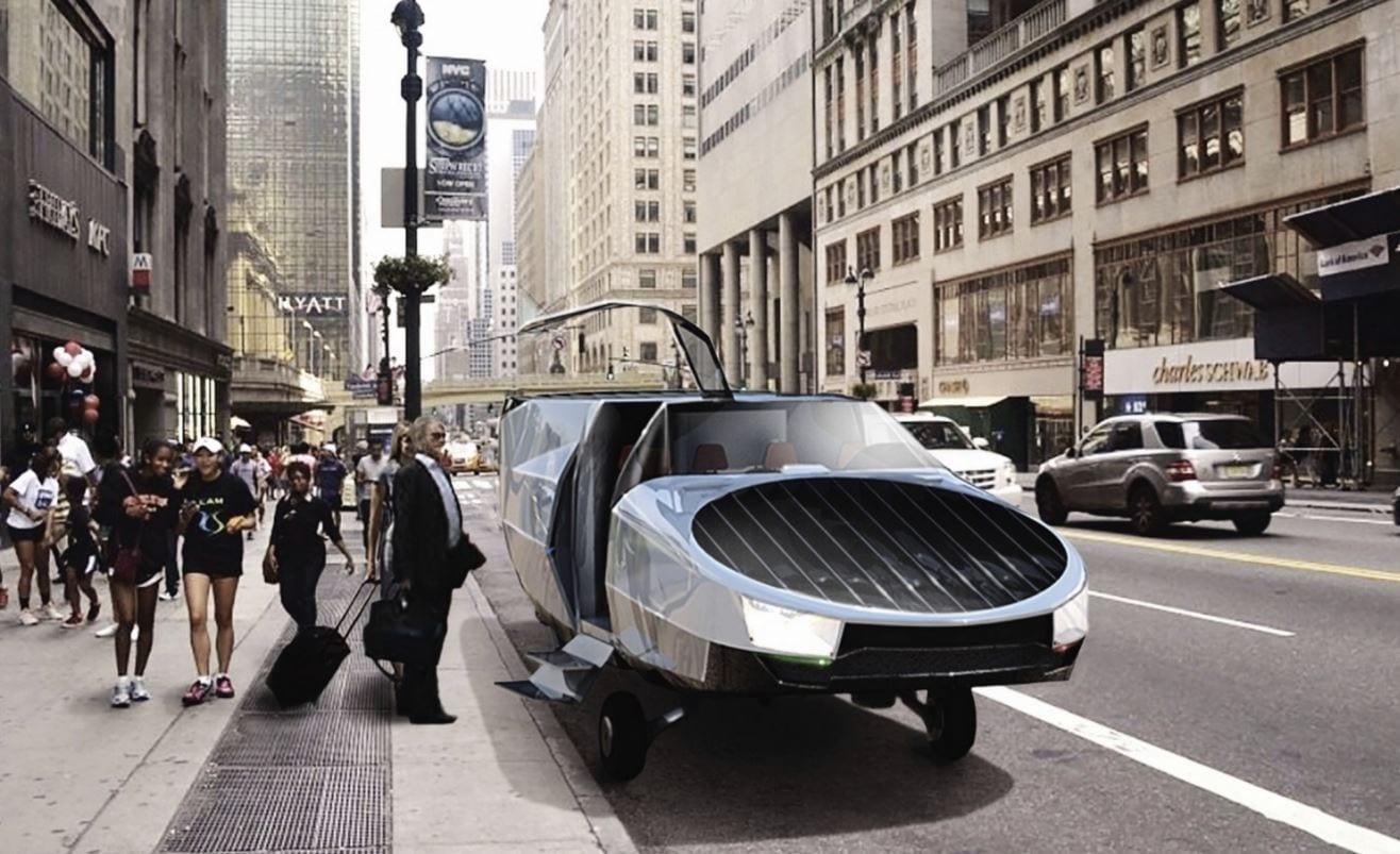 Il CityHawk eVTOL è una DeLorean DMC-12 volante, più o meno