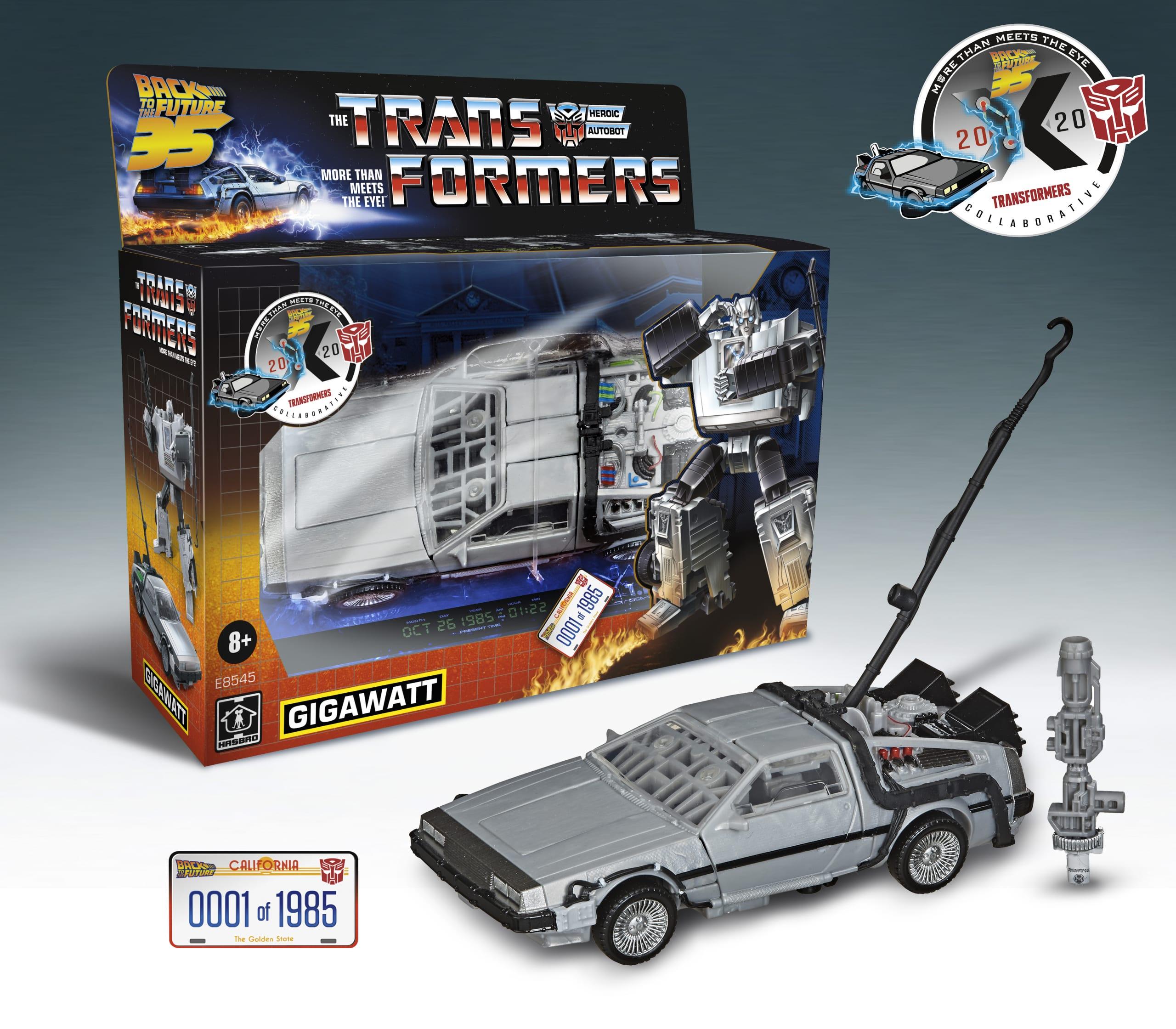 Ritorno al Futuro: ecco il Transformers che si trasforma in Delorean