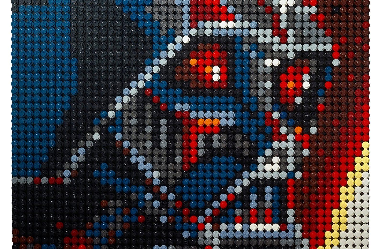 mosaici lego