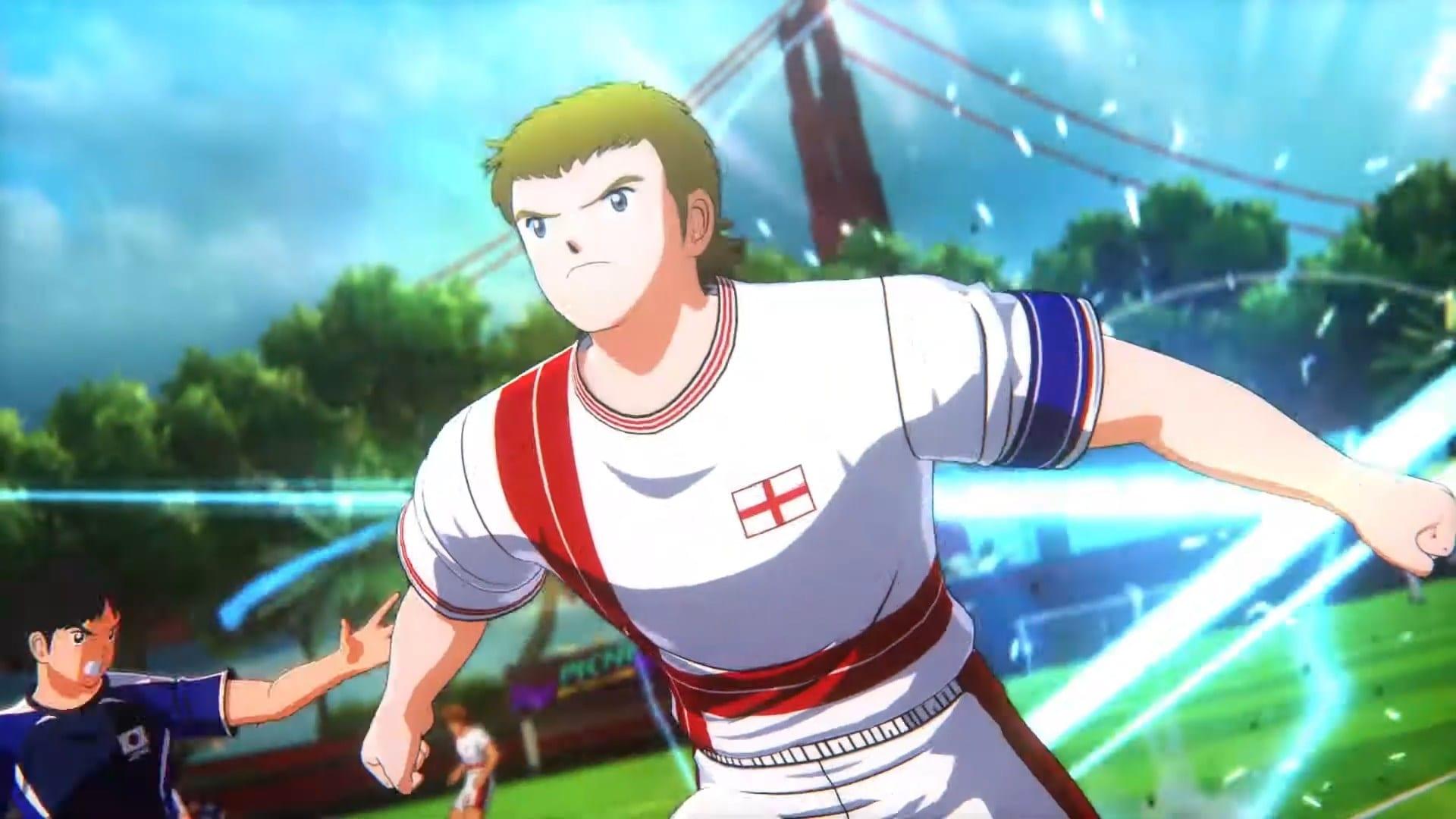 Captain Tsubasa: Rise of New Champions, ecco il video per la nazionale inglese