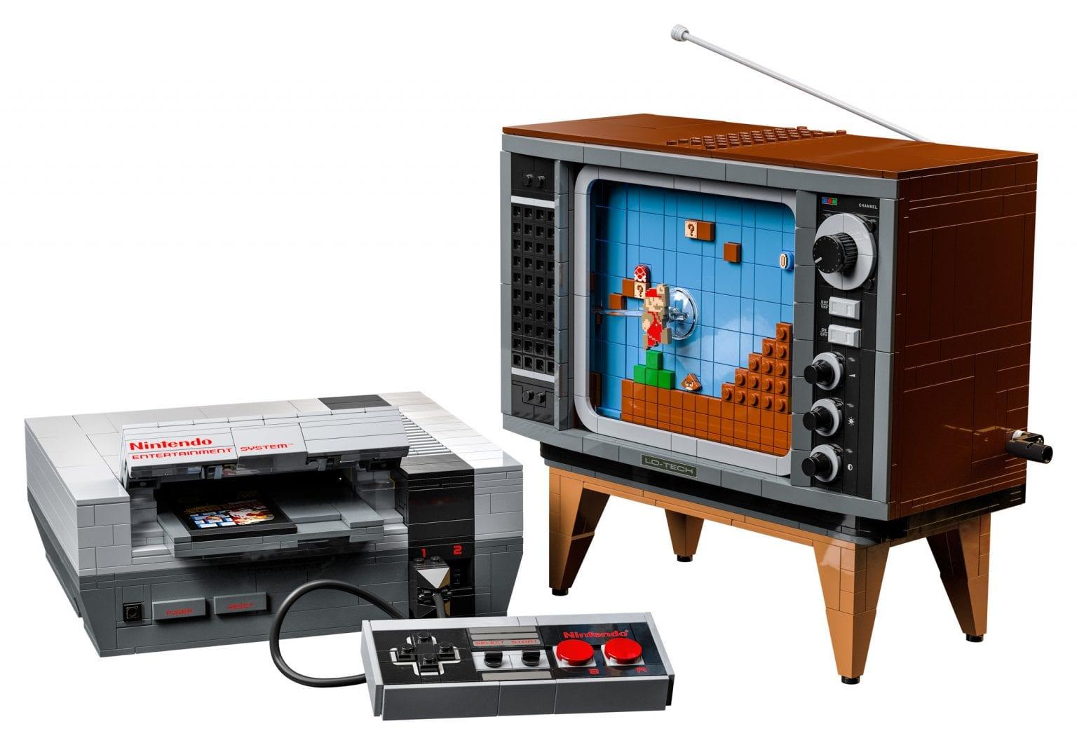 Nintendo Entertainment System, annunciato ufficialmente il set LEGO