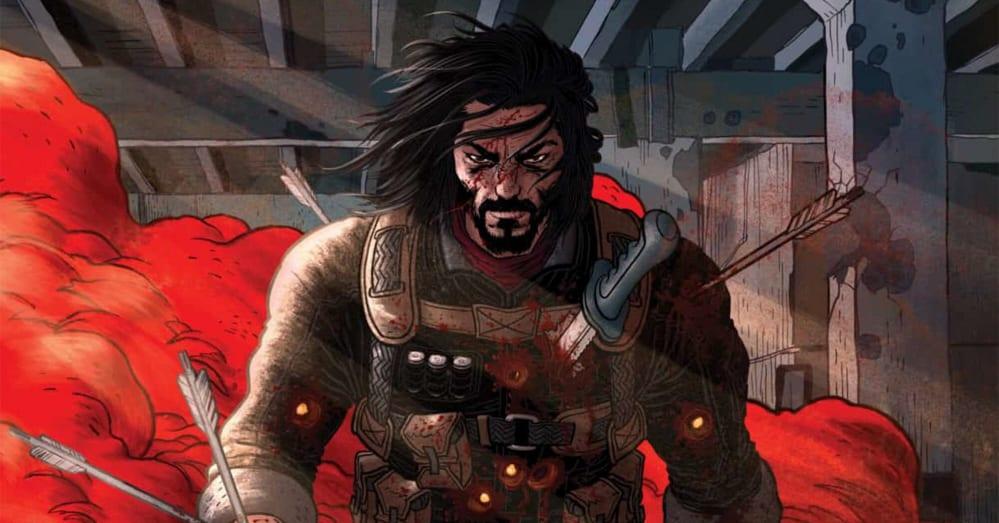 Keanu Reeves fumetto