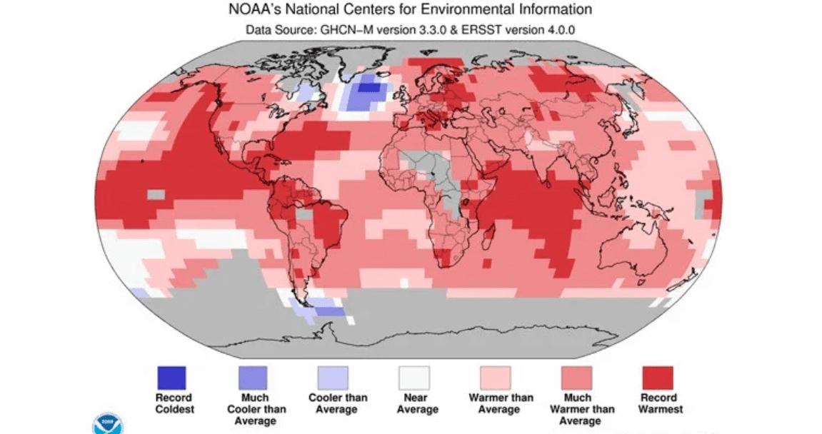 C'è un punto sulla Terra che si sta raffreddando: ecco il perché di quest'anomalia