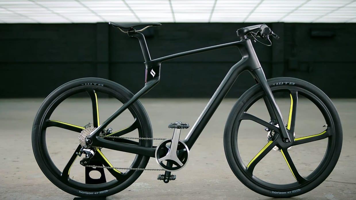 Superstrata, la prima e-bike unibody in fibra di carbonio stampata in 3D