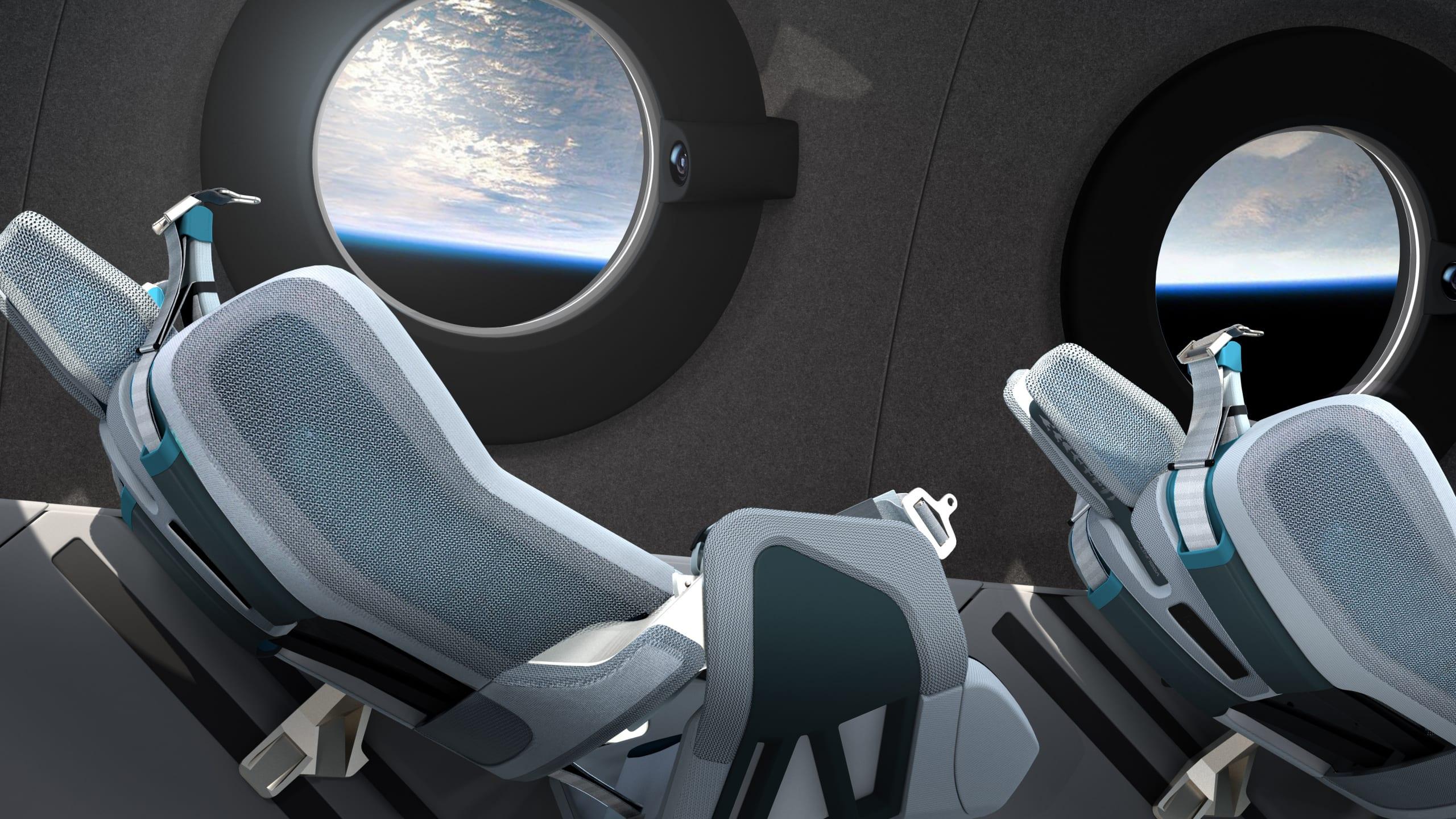 Virgin Galactic: viaggi nello Spazio, ma con il lusso della prima classe