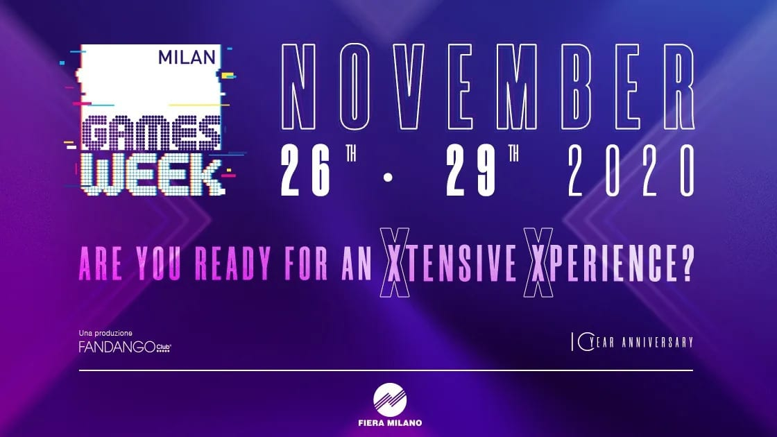 Milan Games Week 2020 con Cartoomics: annunciata l'edizione digitale