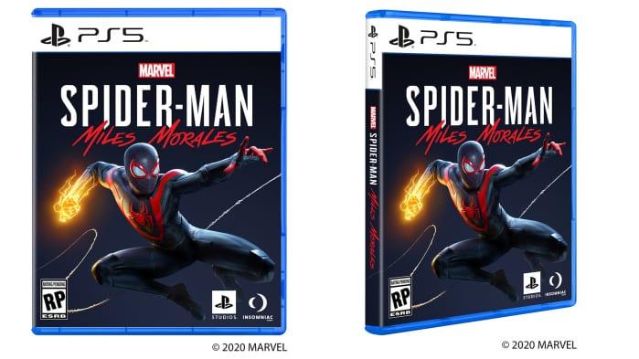 PS5: svelato da Sony il design delle copertine dei giochi
