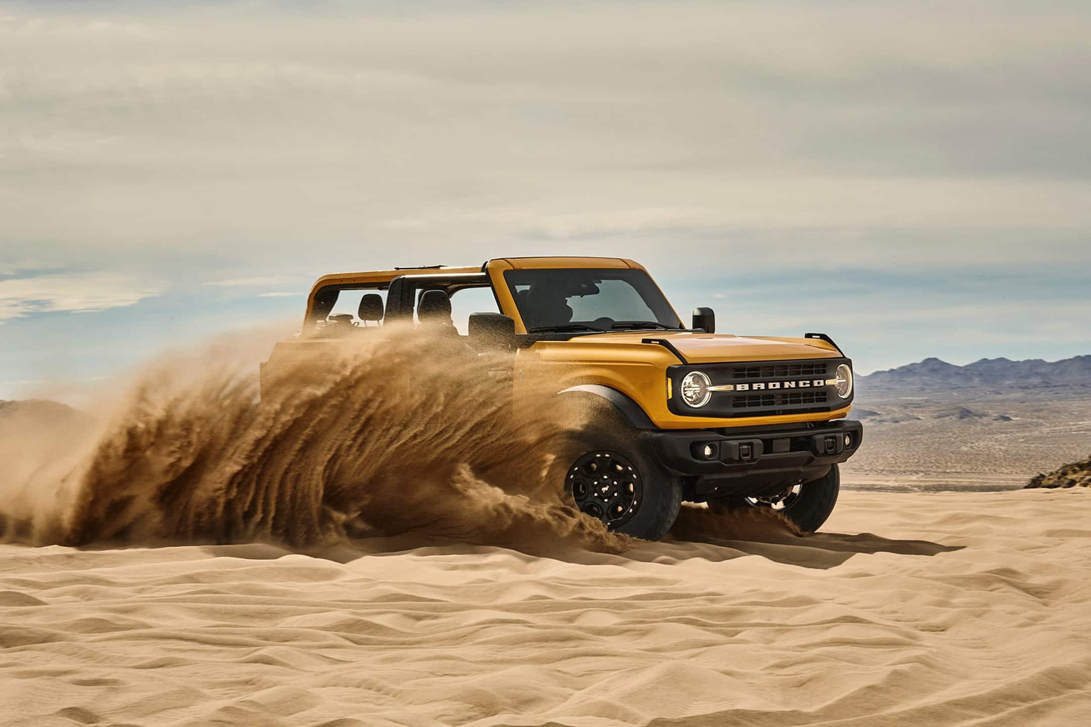 Ford Bronco, la leggenda è tornata: negli USA parte da29.995 dollari