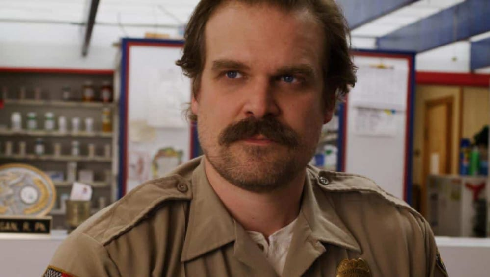 david harbour in stranger things