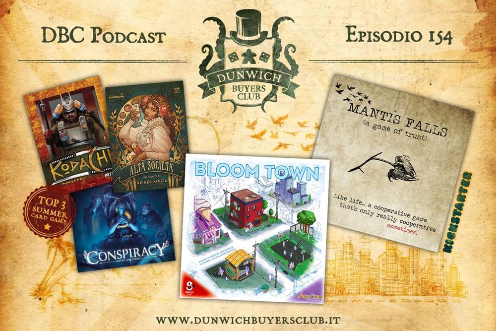 DBC 154: Top 3 giochi di carte per le vacanze, Bloom Town, Mantis Falls
