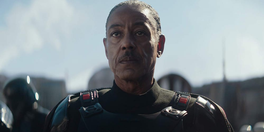 giancarlo esposito in the mandalorian