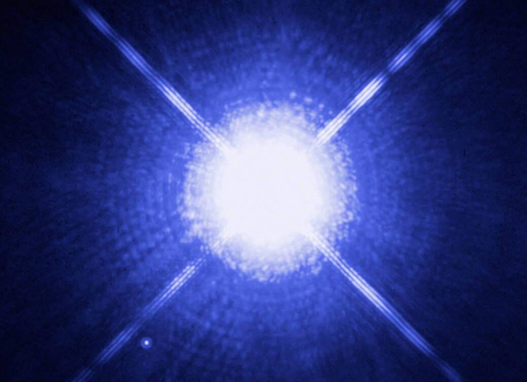 Nana bianca: scovata una strana stella nella Via Lattea