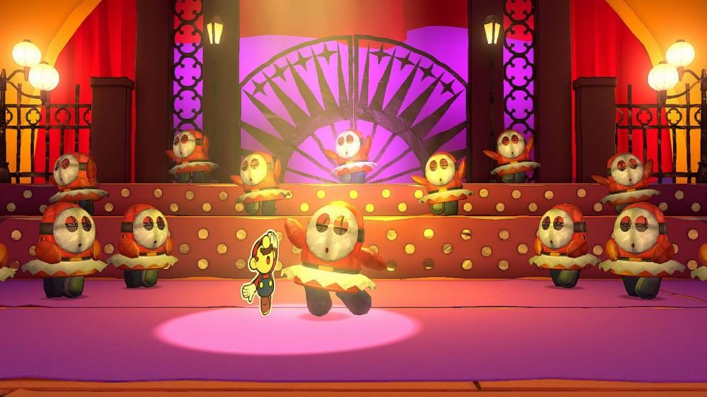 Paper Mario The Origami King Recensione Ballo