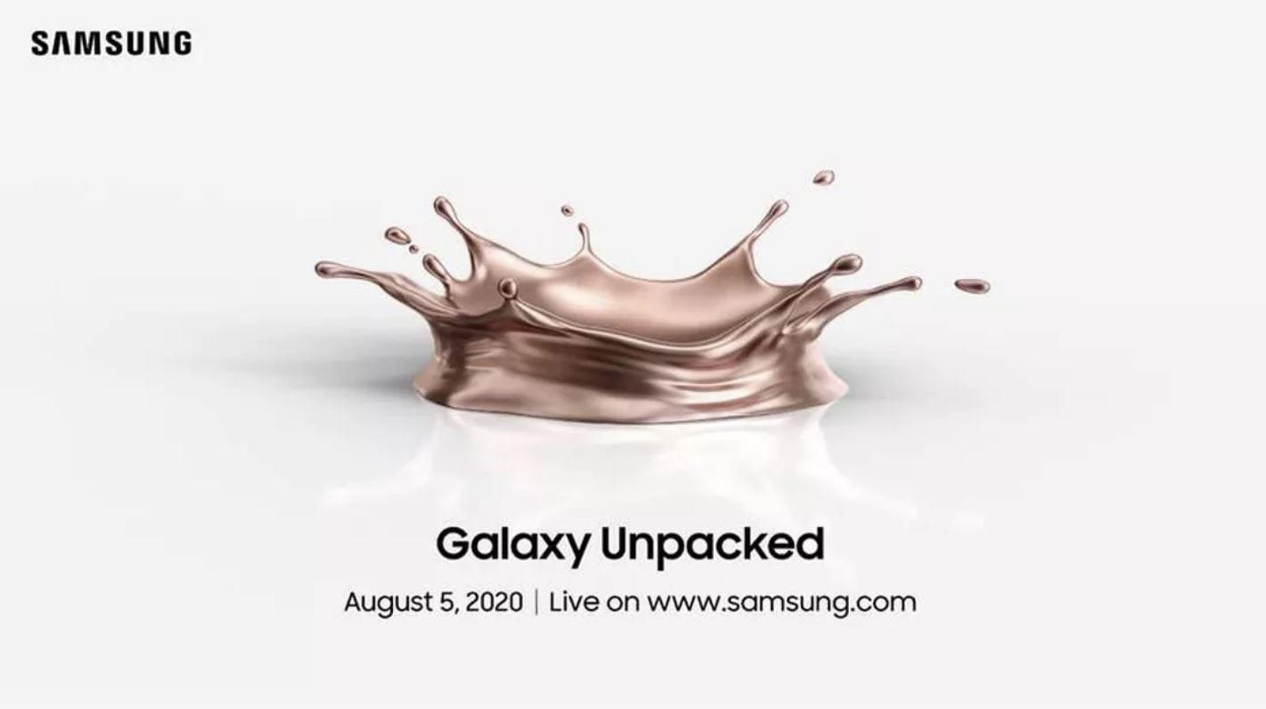 Samsung presenterà il nuovo Galaxy Note 20 il 5 agosto