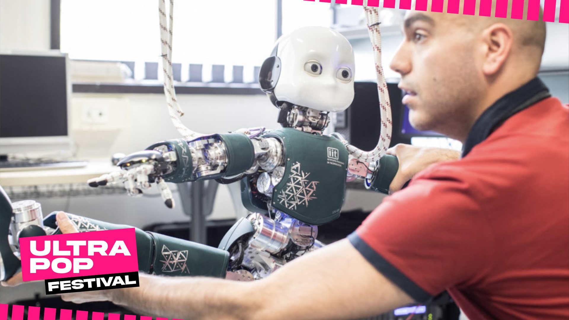 IRONCUB: Robot umanoidi in volo - UltraPop Festival 2020