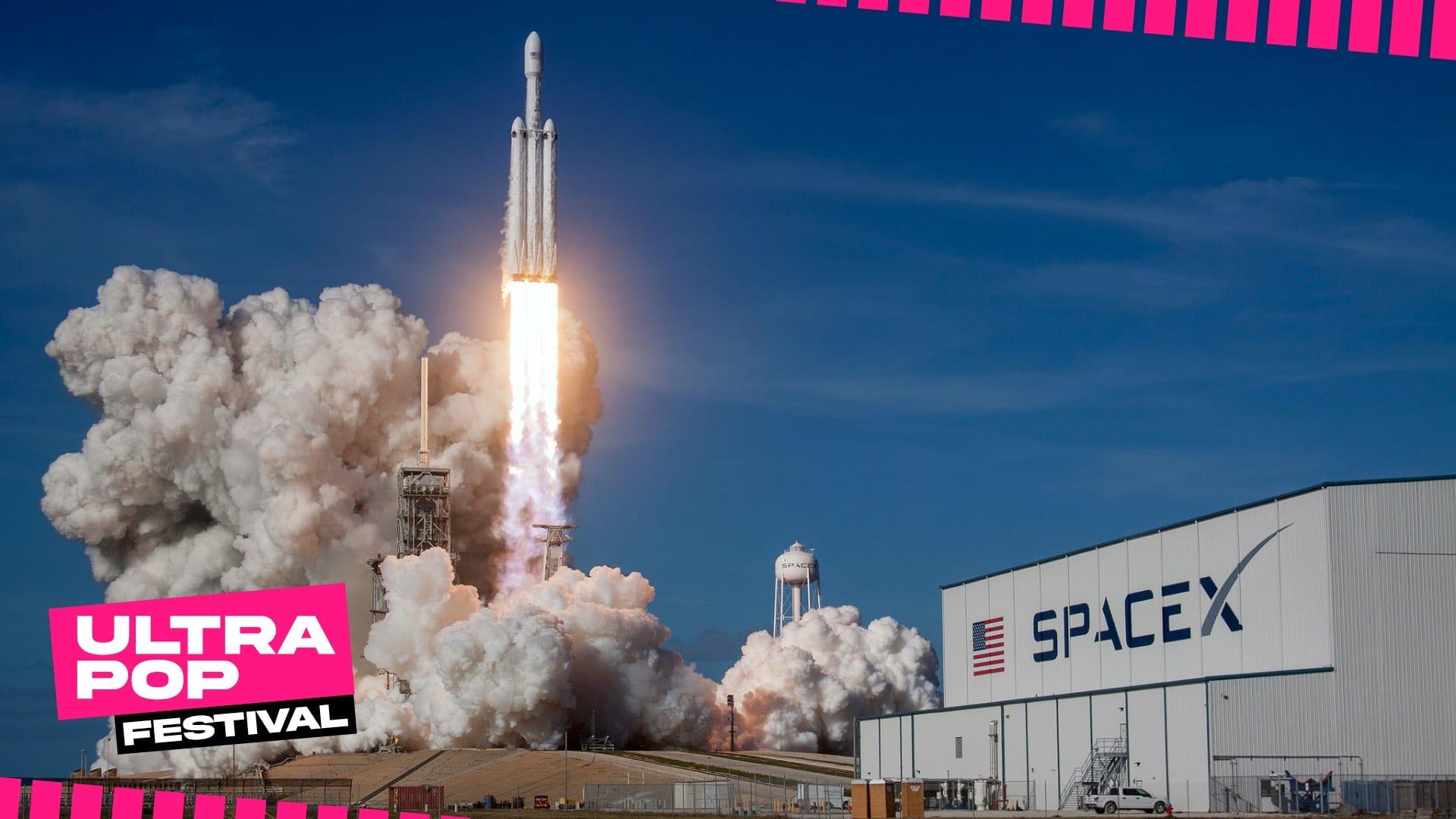 SpaceX e la seconda rivoluzione del riutilizzo dei razzi - UltraPop Festival 2020