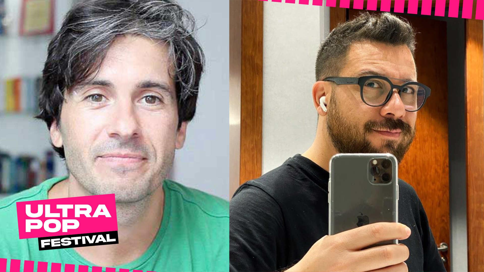 Youtuber Tech italiani: Manuel Agostini e Riccardo Palombo - UltraPop Festival 2020