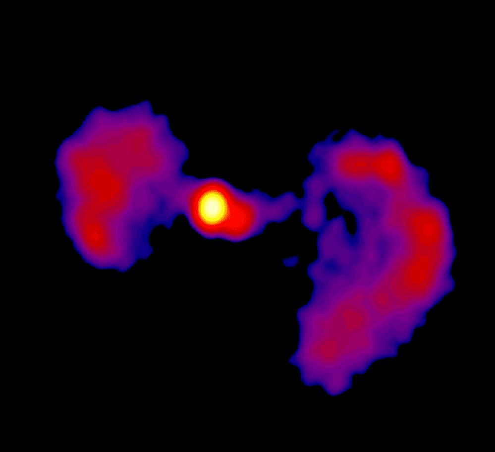 TXS 0128+554: la galassia che ricorda un TIE Fighter