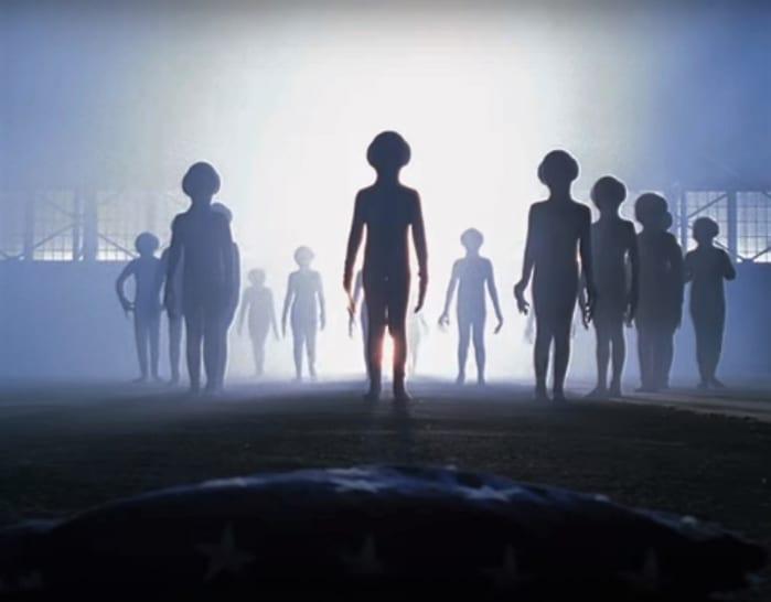 X-Files - piccoli omini verdi