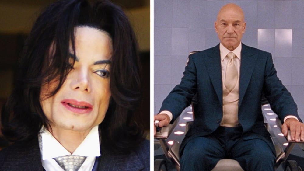 Michael Jackson Xavier X-Men