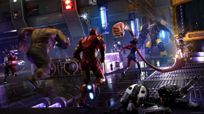 Marvel's Avengers Team