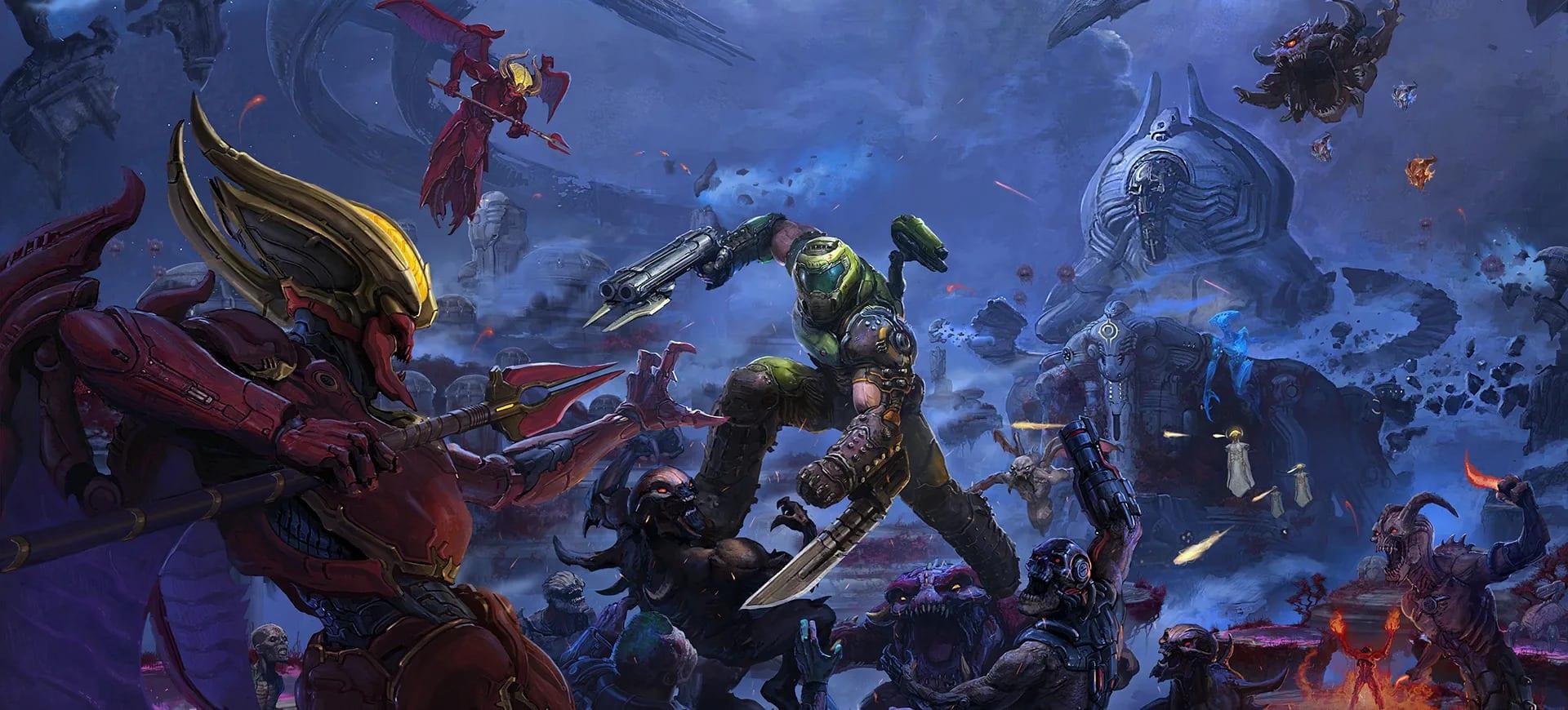 Doom Eternal: The Ancient Gods - Part 1 sarà disponibile a ottobre