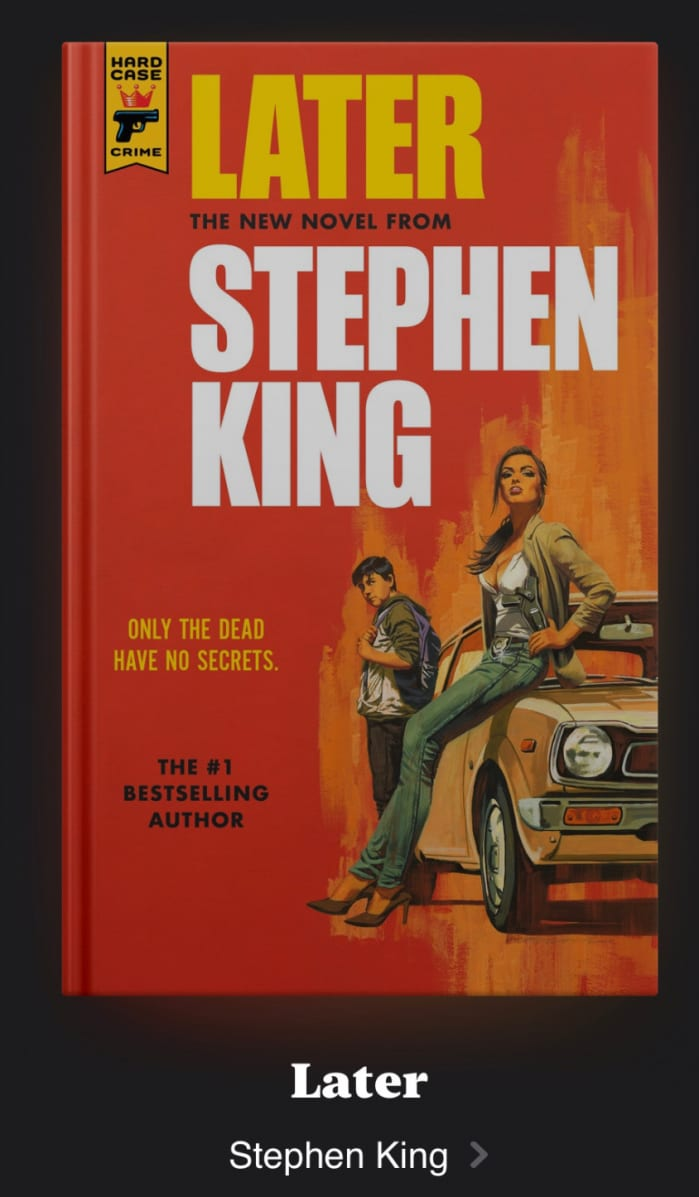 Later, Stephen King
