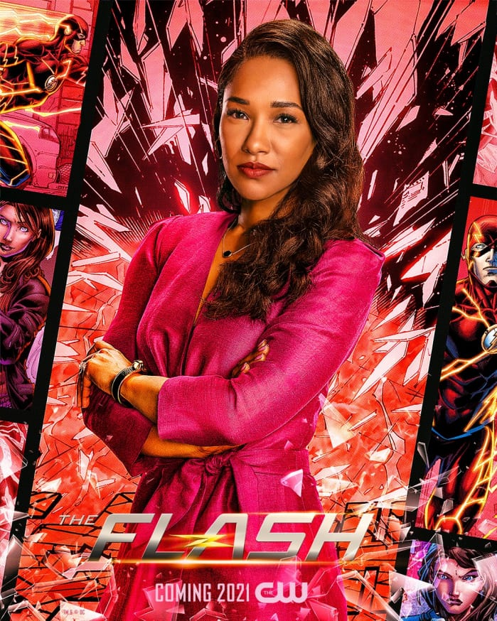 The Flash 7 Iris Poster