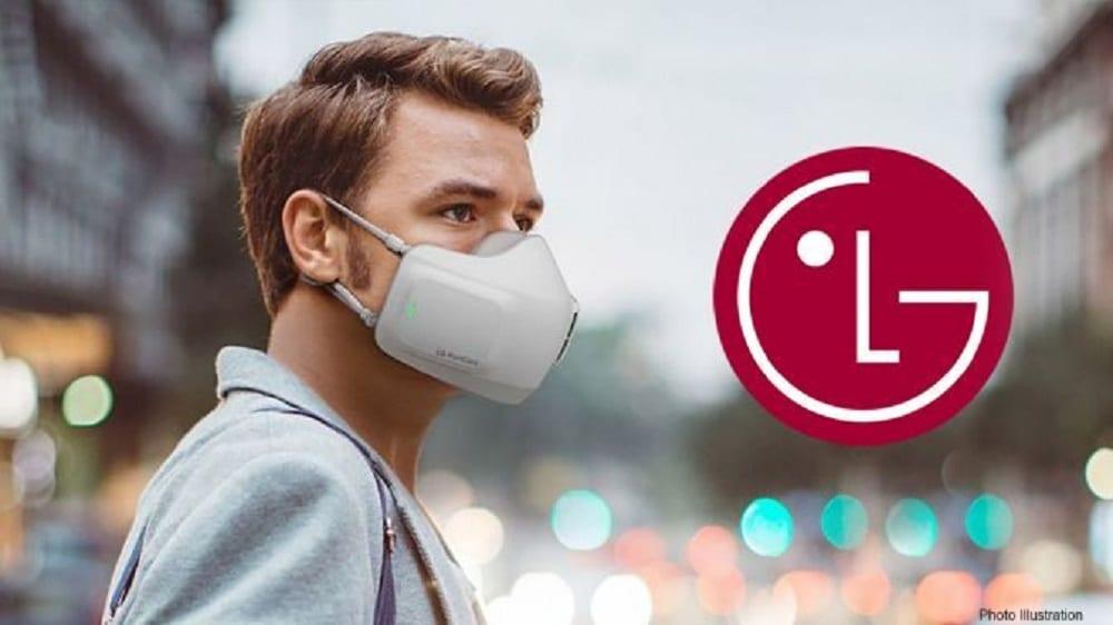 Mascherina, da LG arriva il modello per una respirazione pulita e assistita