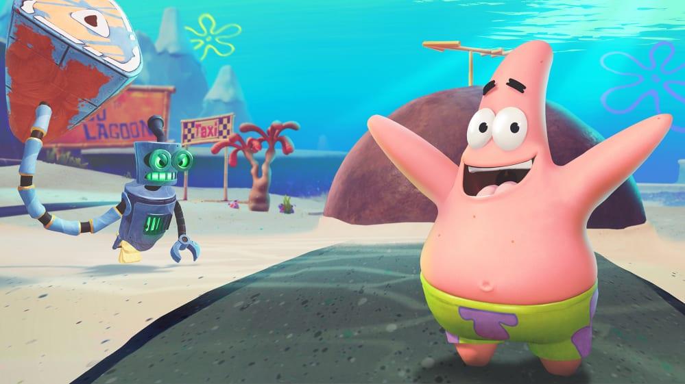 spongebob patrick stella