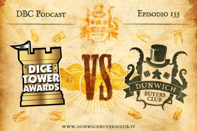 DBC 155: The Dice Tower awards vs DBC