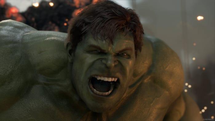Hulk Marvel's Avengers provato