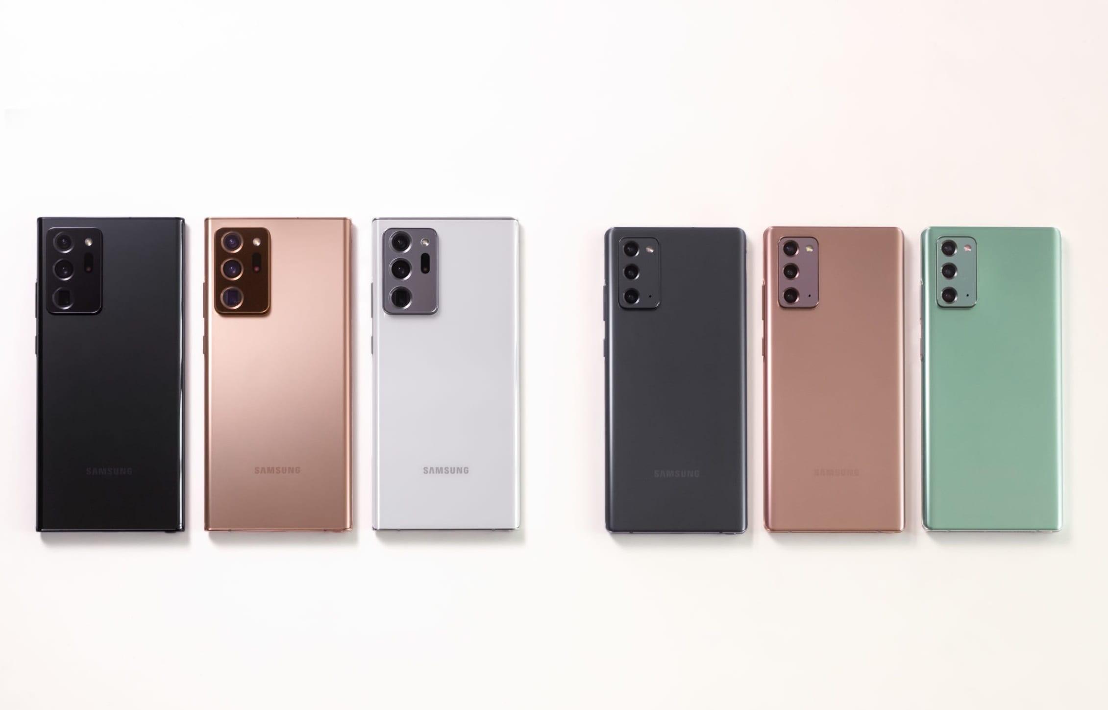 Samsung Galaxy Note 20 e Note 20 Ultra ufficiali: caratteristiche e prezzi